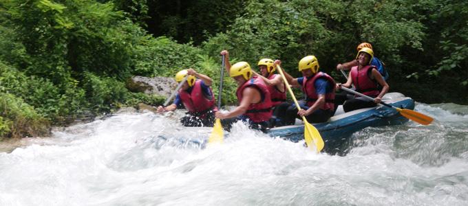 Rafting in Umbria nei Sibillini con Avventura nel Parco