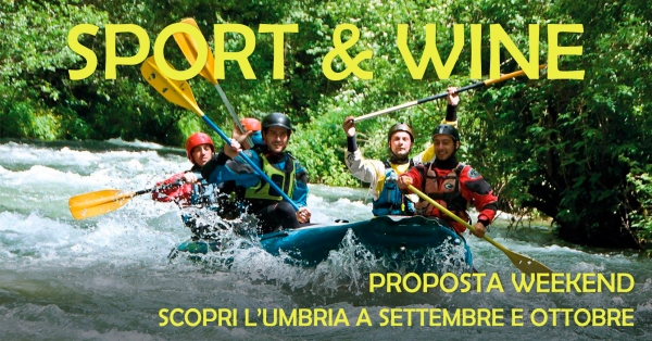 Sport & Wine - Proposta weekend due giorni